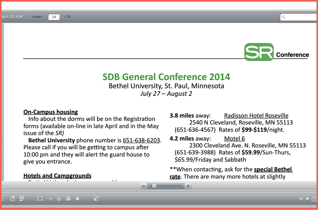 2014 Conf housing page
