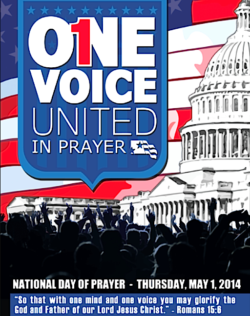 Nat Day of Prayer 2014