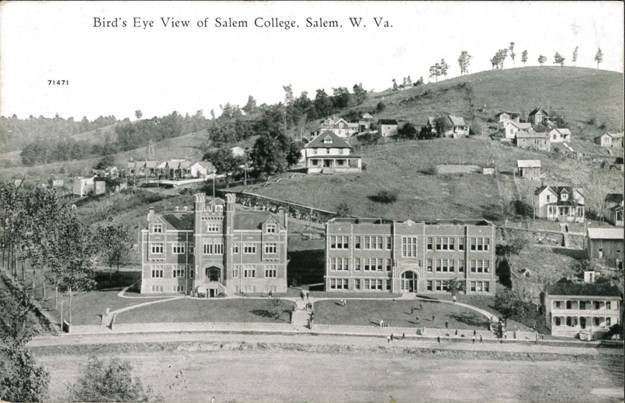 Birdseye View Salem College Campus